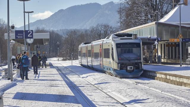 Bahnhof Bad Tölz - BOB