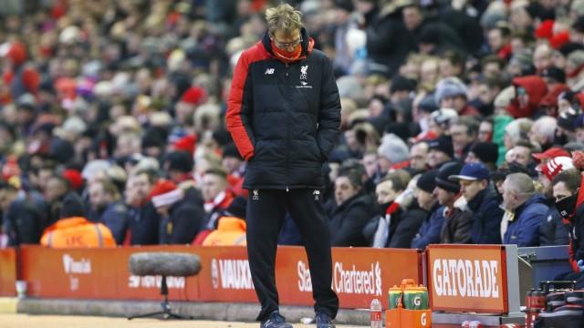 Liverpool v Manchester United - Barclays Premier League; klopp
