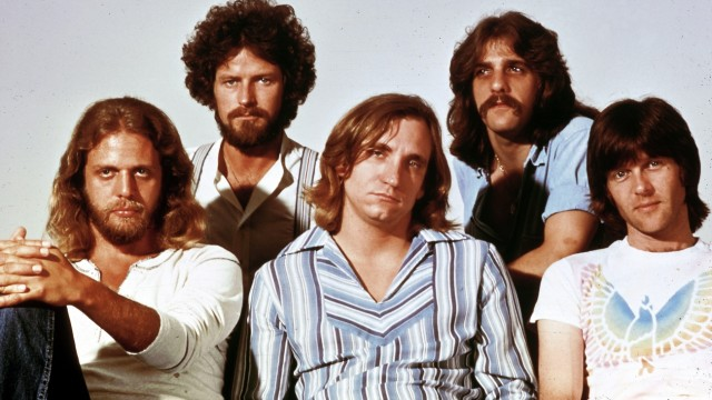 (FILE) Eagles Guitarist Glenn Frey Dies At 67 Photo of Glenn FREY and Joe WALSH and Don HENLEY and Don FELDER and EAGLES and Randy MEISNER