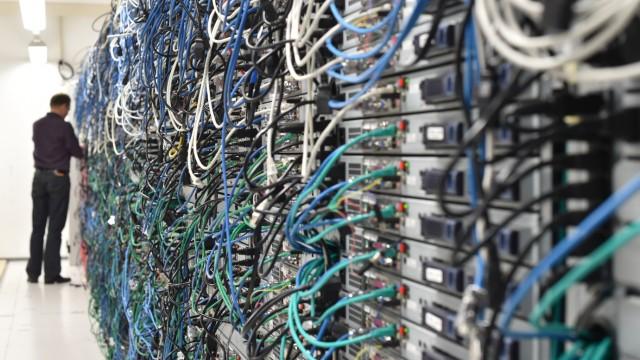 Rechenzentrum des Internetdienstanbieters  1&1