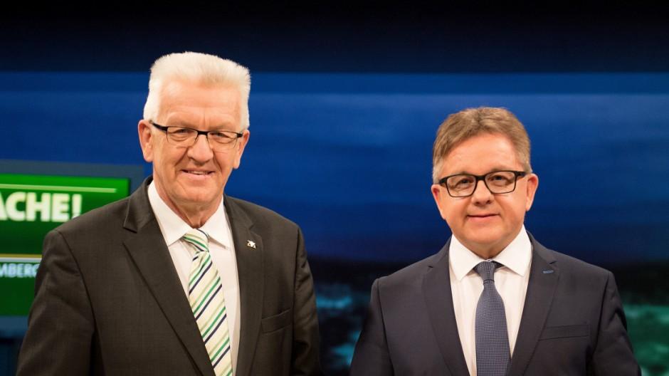 Winfried Kretschmann und Guido Wolf
