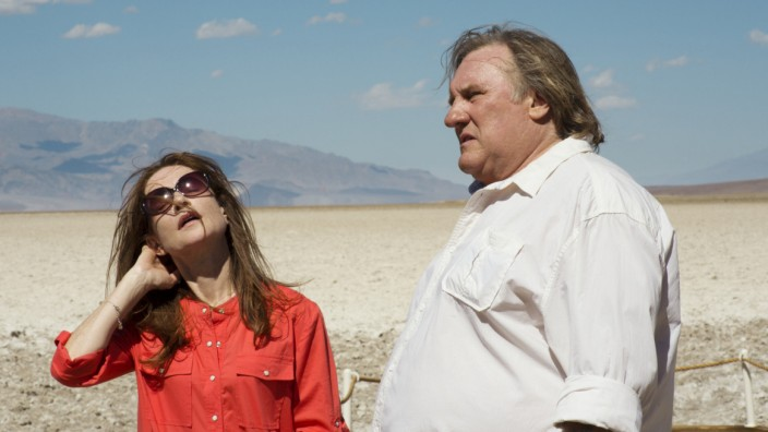 "Isabelle Huppert und Gérard Depardieu in ""Valley of Love""."