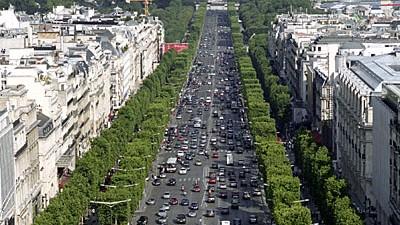 Champs-Élysées Einkaufsstraße Champs-Elysées