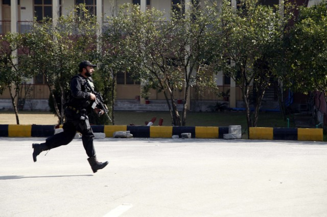 Taliban militants attack Pakistan university