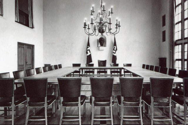 Einweihung Sitzungssaal 1937, Pasinger Rathaus