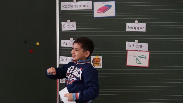 Flüchtlinge in München Schule