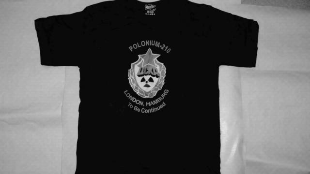 Polonium-T-Shirt