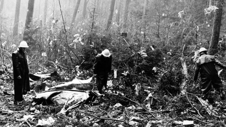 Anschlag auf Maschine der Swissair 1970