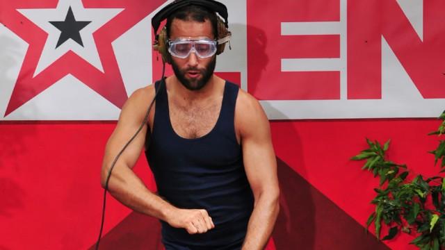 RTL-Dschungelcamp, David Ortega bei der Dschungelprüfung