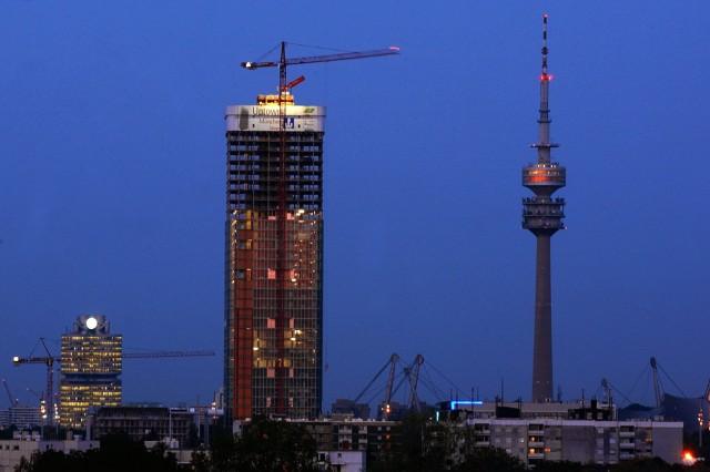 Uptown-Tower  - Höchstes Bürogebäude Münchens