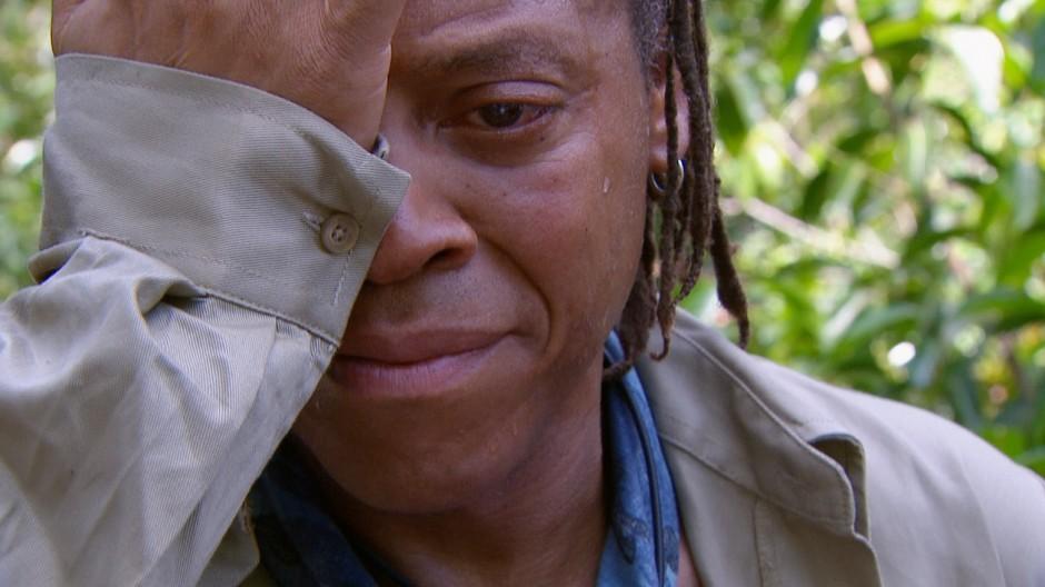 Ich bin ein Star - Holt mich hier raus!, RTL-Dschungelcamp, Ricky Harris vor der Dschungelprüfung