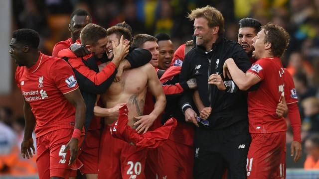 Norwich City v Liverpool - Barclays Premier League - Carrow Road