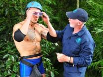 Ich bin ein Star - Holt mich hier raus!; RTL-Dschungelcamp, Thorsten Legat bei der Dschungelprüfung