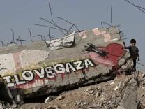 MIDEAST ISRAEL PALESTINIANS AL SHEJAEIYA NEIGHBOURHOOD