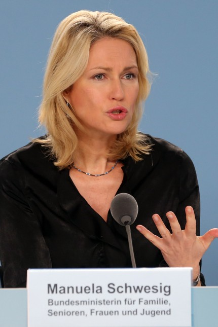 Manuela Schwesig (SPD) stellt Programm vor