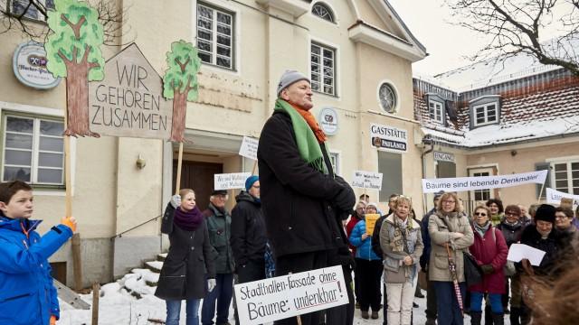Penzberg Baum-Protest
