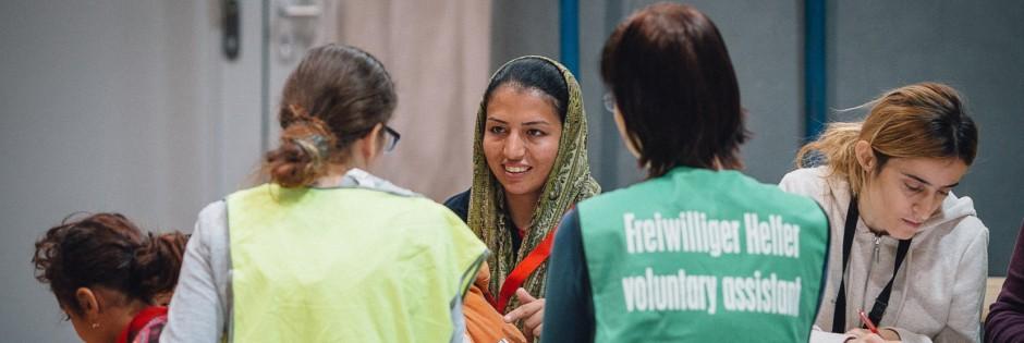 Erstaufnahme-Einrichtung für Flüchtlinge