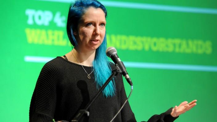 Kai Wargalla als neue Landesvorsitzende der Bremer Grünen