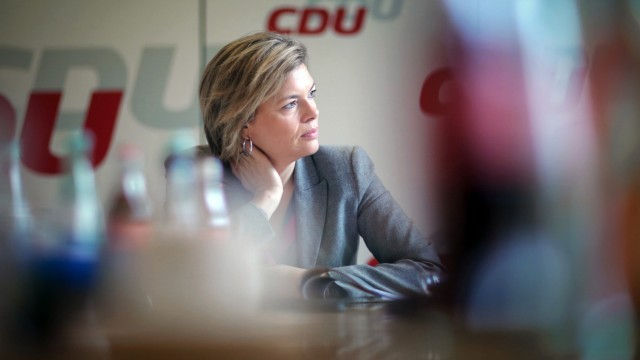 Pressekonferenz CDU-Fraktion in Mainz: Julia Klöckner
