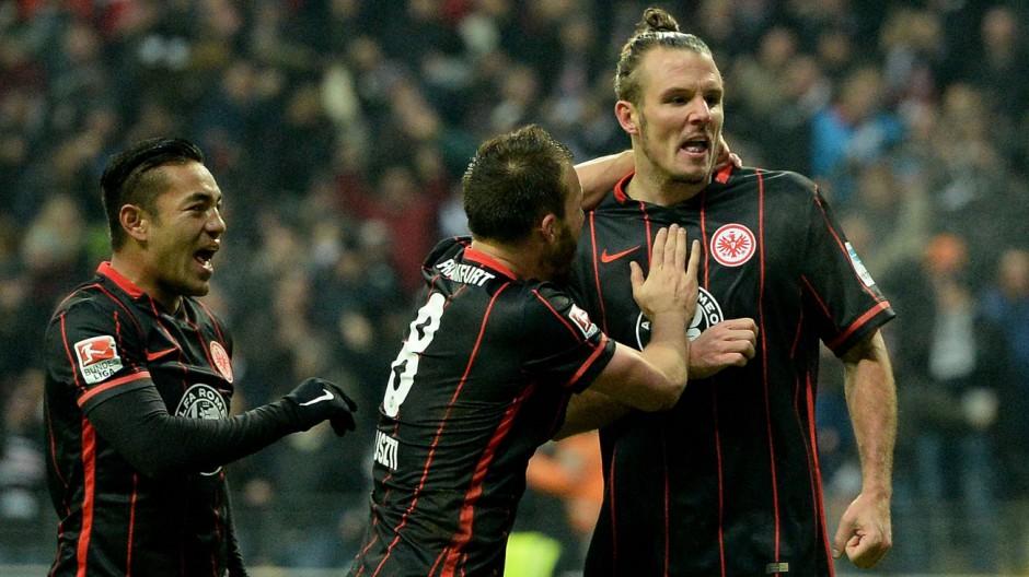 24 01 2016 xfux Fussball 1 Bundesliga Eintracht Frankfurt VfL Wolfsburg emspor v l Marco Fab