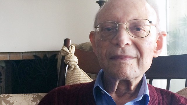Zweiter Weltkrieg Auschwitz-Überlebender Heinz Kounio