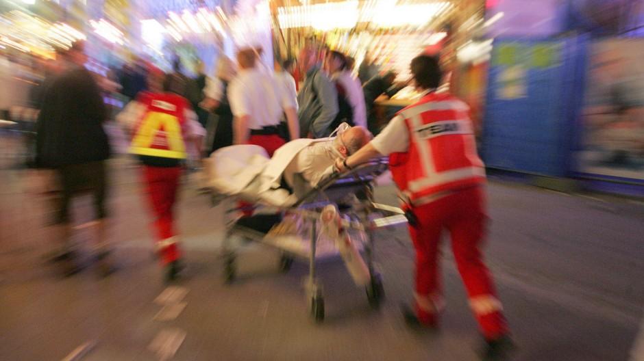 Rotes Kreuz Rettungskräfte