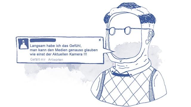 Pegida Facebook-Auswertung