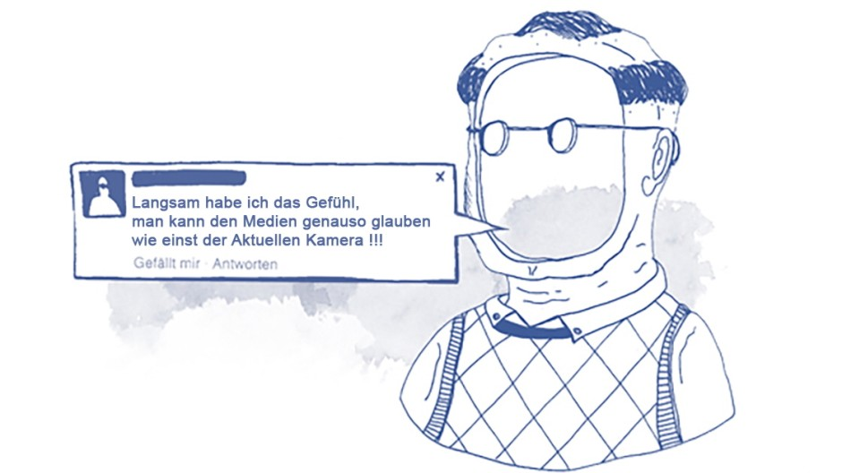 Pegida Facebook-Auswertung