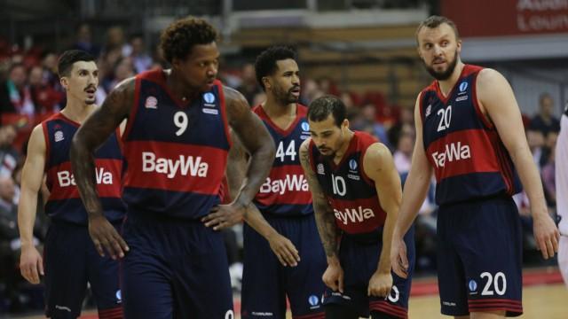 27 01 2016 FC Bayern Basket vs Bilbao Basket Audi Dome München Basketball im Bild Nihad Djedovic