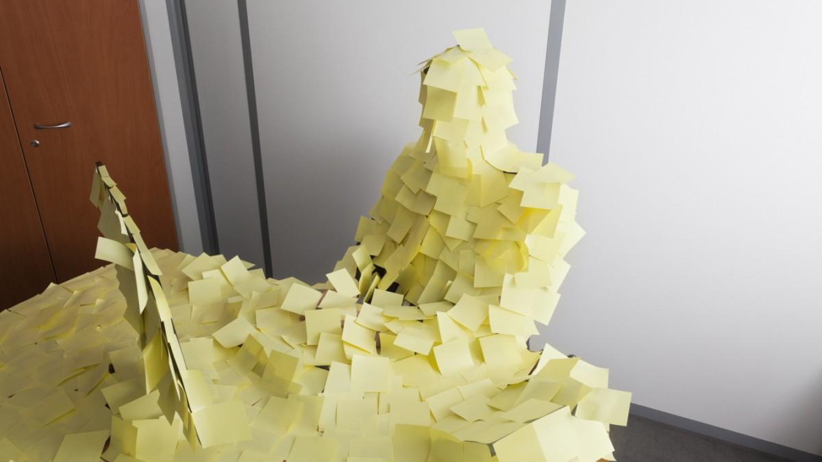 Agiles Arbeit - Gelähmt vor lauter Beweglichkeit