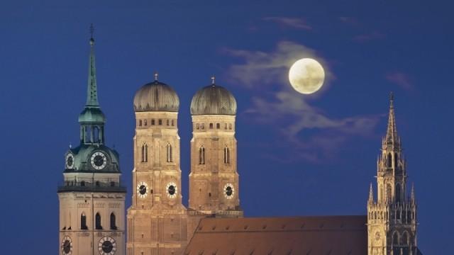 Germany Bavaria Munich View of city PUBLICATIONxINxGERxSUIxAUTxHUNxONLY WBF001235