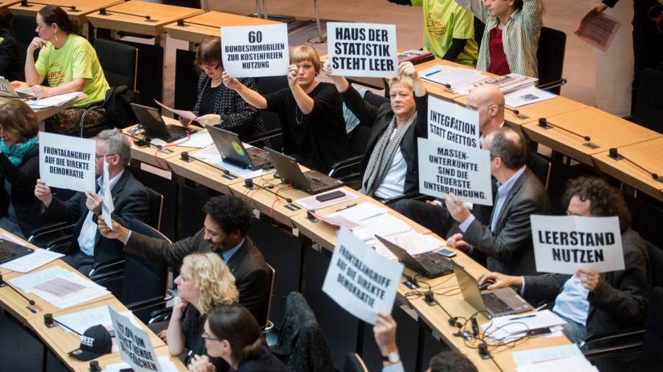 Sitzung Berliner Abgeordnetenhaus