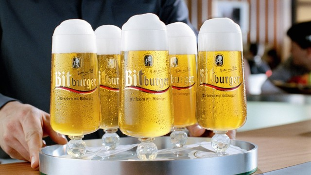 Bitburger - das meistgezapfte Bier Deutschlands