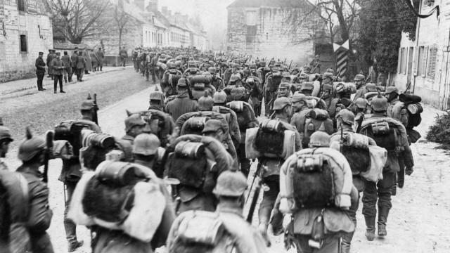 Deutsche Soldaten vor Verdun, 1916