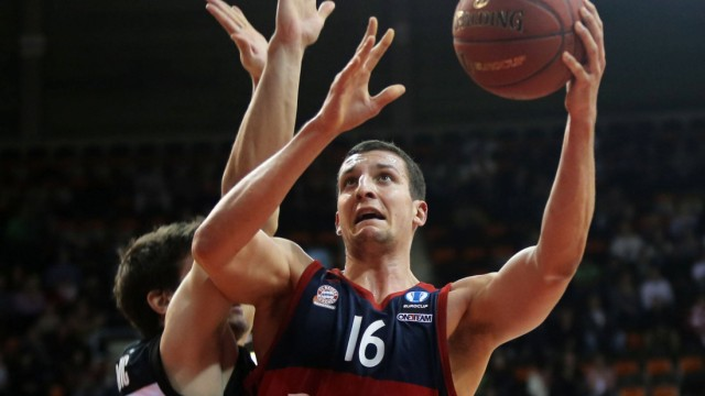 27 01 2016 FC Bayern Basket vs Bilbao Basket Audi Dome München Basketball im Bild Dejan Todorovi