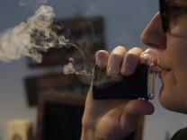 Rauchen bei Tante Dampf