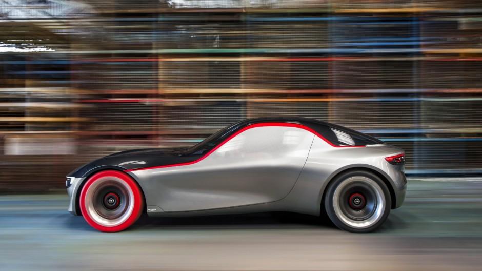 Die Studie Opel GT Concept