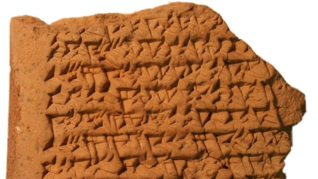 Babylonier berechneten Jupiter-Bahn