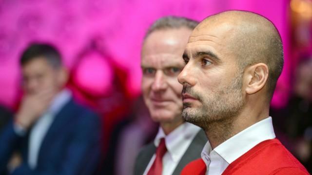 Karl-Heinz Rummenigge und Pep Guardiola
