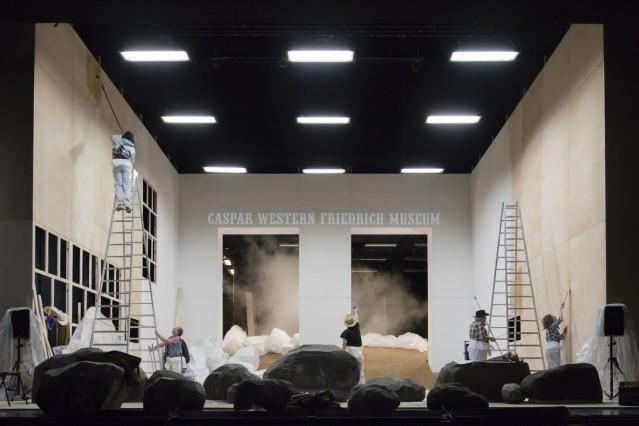 Caspar Western Friedrich - PR Material Kammerspiele München