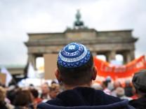 Kundgebung gegen Judenhass