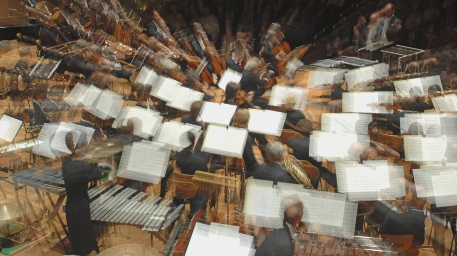 Germany Hamburg Orchestra performing classical music PUBLICATIONxINxGERxSUIxAUTxHUNxONLY WBF000151