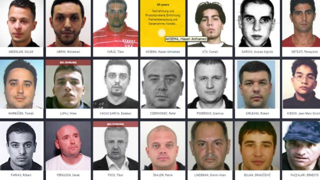 Europas Most Wanted