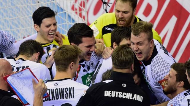 Handball-EM Deutschland bei der Handball-EM