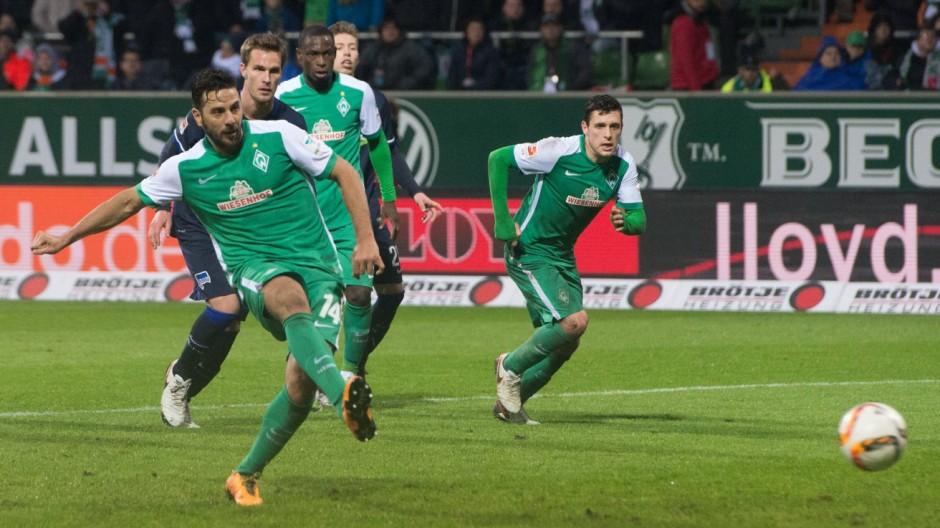GER 1 FBL Werder Bremen vs Hertha BSC Berlin 30 01 2016 Weser Stadion Bremen GER 1 FBL Werder