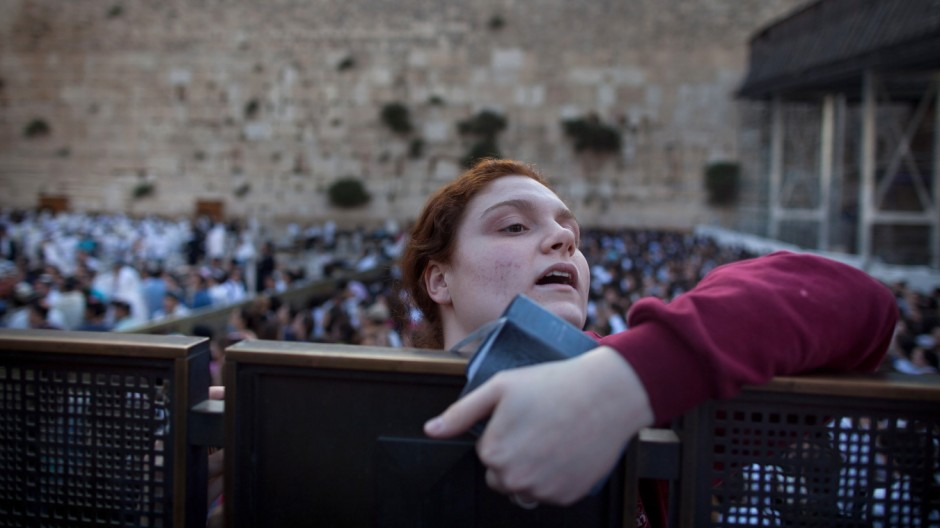 Clashes Erupt At Women of The Wall Prayer Service in Jerusalem