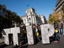 Demonstration gegen TTIP und CETA