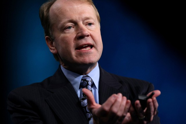 Cisco Chairman And CEO John Chambers Gives Keynote At RSA Conference