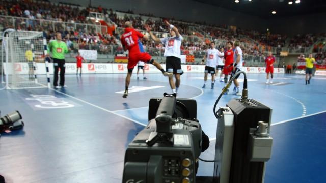 Germany v Russia - Men's World Handball Championship 2009; Kamera