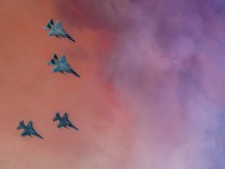 Manöver der U.S. und türkischen Luftwaffe